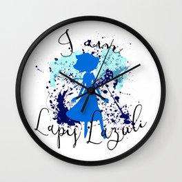 I am Lapis Lazuli Wall Clock