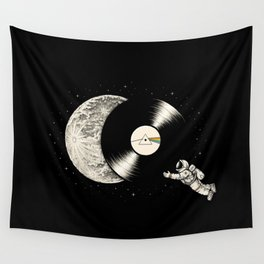 Tha Dark Side of the Moon Wall Tapestry