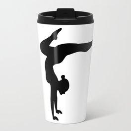 B&W Contortionist Travel Mug