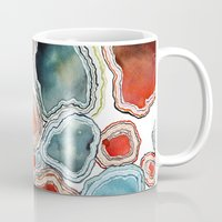 agate Mugs featuring AGATE by Kelsey Eckstrom