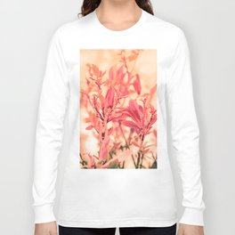Magnolia Love in Apricot Long Sleeve T-shirt