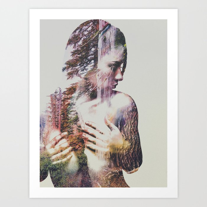 Discover the motif WILDERNESS HEART III by Andreas Lie as a print at TOPPOSTER