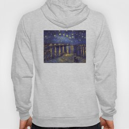 Vincent Van Gogh Starry Night Over The Rhone Hoody