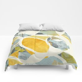 modern mid century, Graphic art, neutral colors, geometric art, circles, modern painting, abstract p Comforters