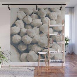 Garbanzo Beans in Soft Sepia Wall Mural