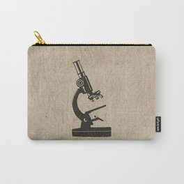 Old Light Microscope Carry-All Pouch