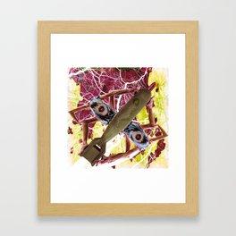 RocketGirl Framed Art Print