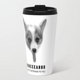 Corgi Meme Travel Mug