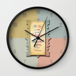 Near to the Brokenhearted Wall Clock