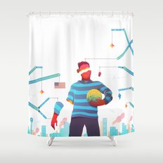 The Pioneers of Paterson Shower Curtain