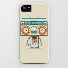 Music robot iPhone Case