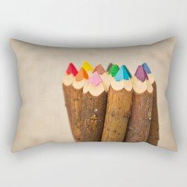 Color Me Free I Rectangular Pillow