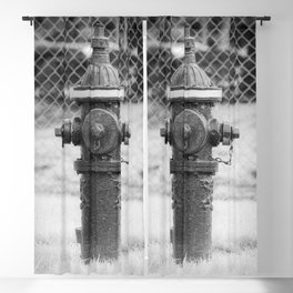 Eddy Valve Company Two Piece Barrel Fire Hydrant Waterford NY Fire Plug Blackout Curtain
