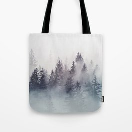 Winter Wonderland - Stormy weather Tote Bag