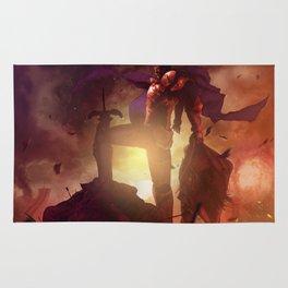 Luca Blight the Beast of Suikoden II Rug