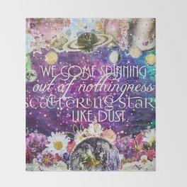 Scattering Stars Like Dust Throw Blanket