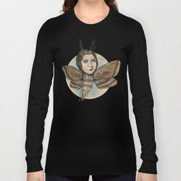 MOTH LADY Long Sleeve T-shirt