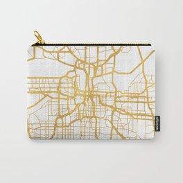 KANSAS CITY MISSOURI CITY STREET MAP ART Carry-All Pouch