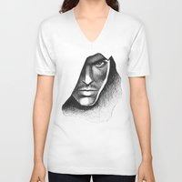 assassins creed V-neck T-shirts featuring Assassins Creed by Renus3000