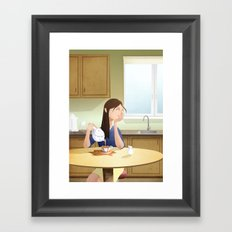 Absen-Tea Framed Art Print