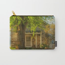 The Stone Cottage On A Spring Evening Carry-All Pouch