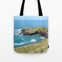Dinas Bach II (Little Fort) - North Wales Coast Tote Bag