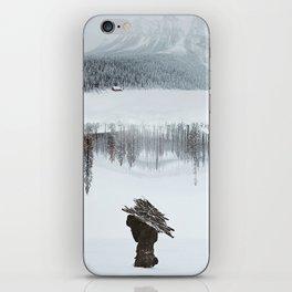 Burden iPhone Skin