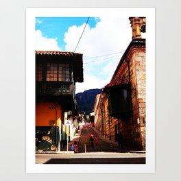 Life on latinoamerica - Colombia Art Print