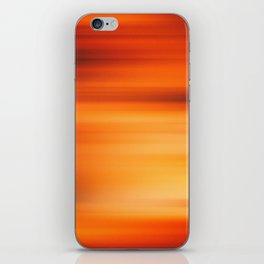 Abstract background blur motion iPhone Skin