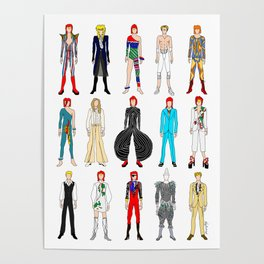Rock Stars Heroes Costumes Poster