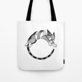 Cat Loop Tote Bag
