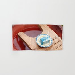Soap and wooden washboard Hand & Bath Towel
