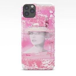 Happy Girl iPhone Case