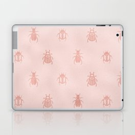 Beetles en rose gold Laptop & iPad Skin
