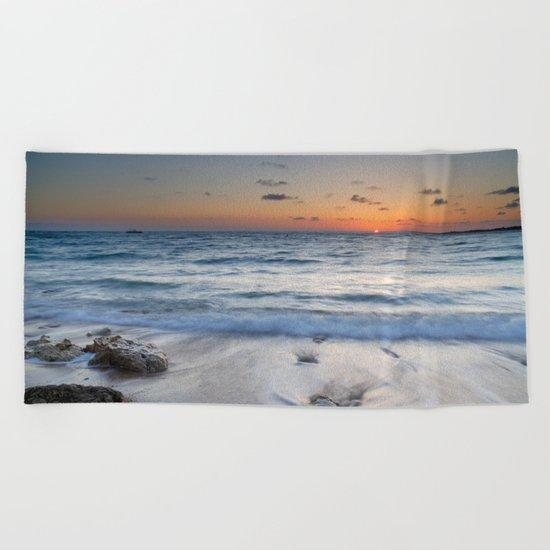 Atlantic Ocean. Beach Towel