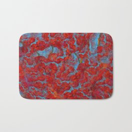 Texture Million poppies Bath Mat