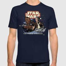 Chewie, We're Home Navy Mens Fitted Tee MEDIUM
