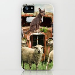 Kelpie Life iPhone Case