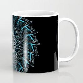 splatter mandala Coffee Mug