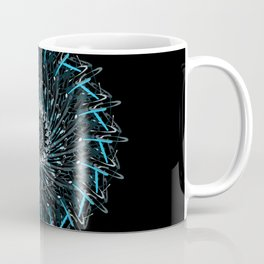 splatter mandala Coffee Mug