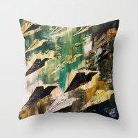 aviation Throw Pillows featuring AVIATION  by Matt Schiermeier