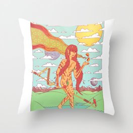 The Happen Dasher.  Throw Pillow