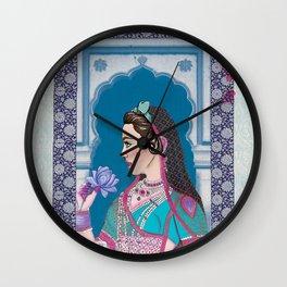 Indian Royalties (Rani) Wall Clock