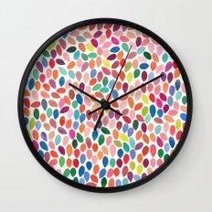 rain 2 sq Wall Clock