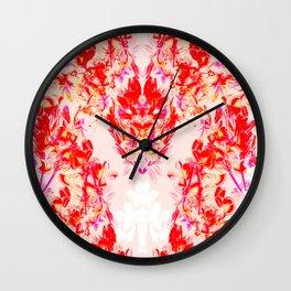 TROPIKAL PINK Wall Clock