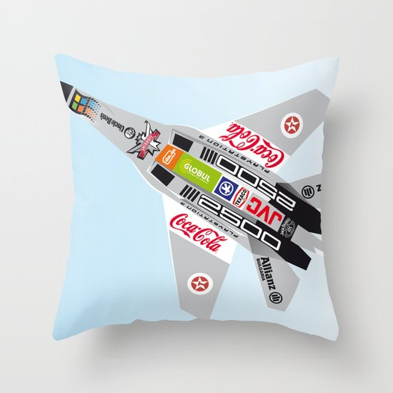 popwarIII Throw Pillow