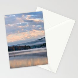Pastel Dawn in the Adirondacks Stationery Cards