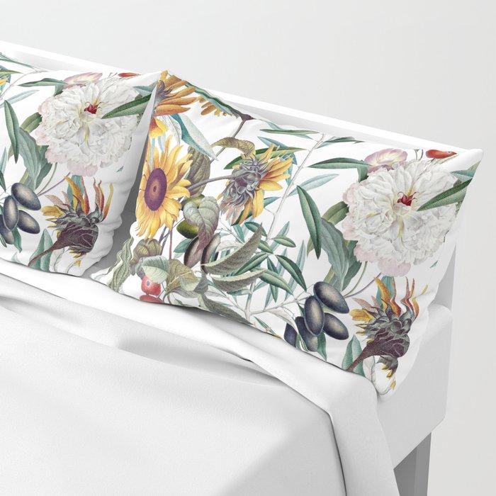 Vintage Garden VI Pillow Sham