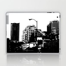 99 North in Black and White Laptop & iPad Skin