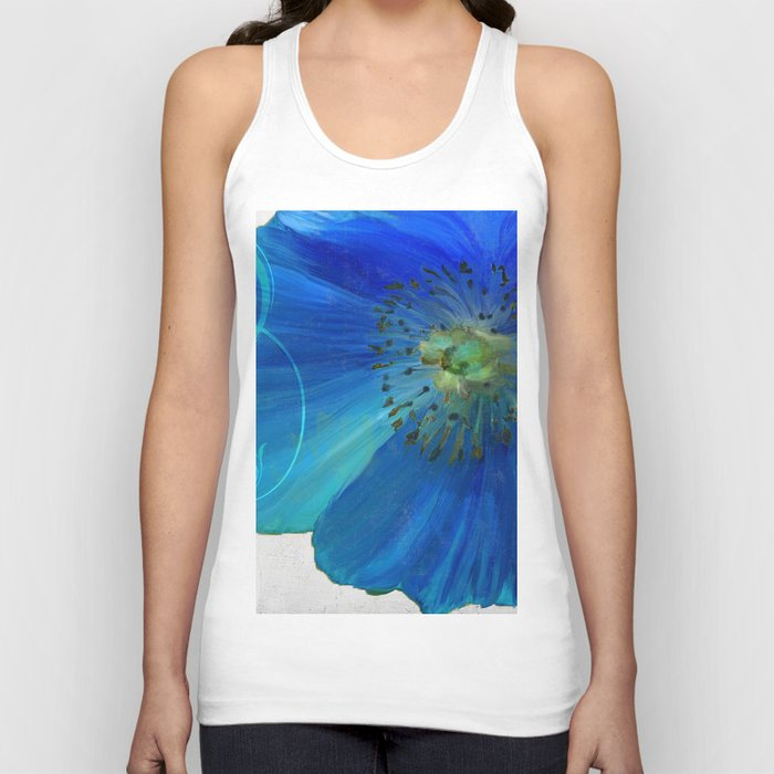 Poppy Blues I Unisex Tanktop